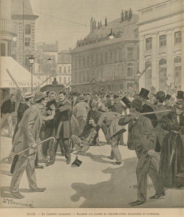 Rixes à Lille 1896